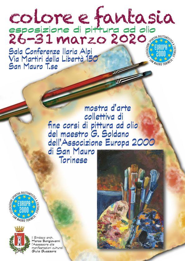 Mostra Pittura ad Olio - Dal 26 Marzo al 31 Marzo 2020 - Europa2000 San Mauro Torinese